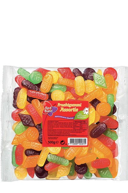 Red Band Fruchtgummi Assortie 12x 500g