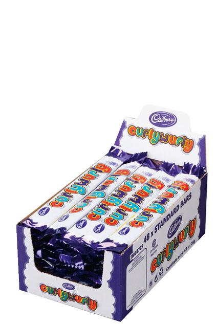Cadbury Curly Wurly 48x 26g