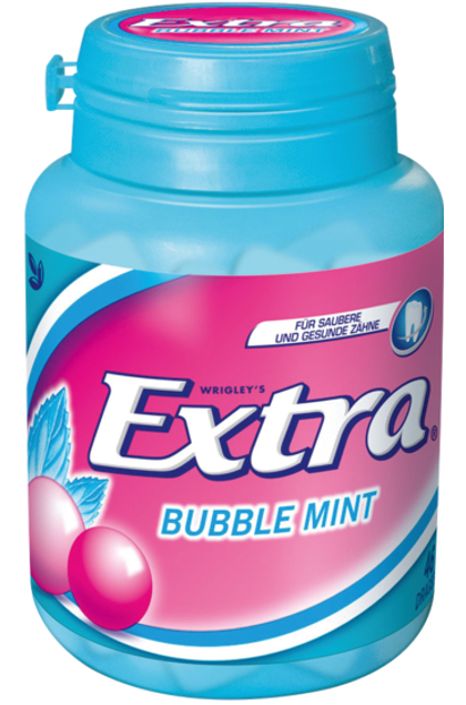 Wrigley Extra Bubble Mint Dragees 12x 50er Dose