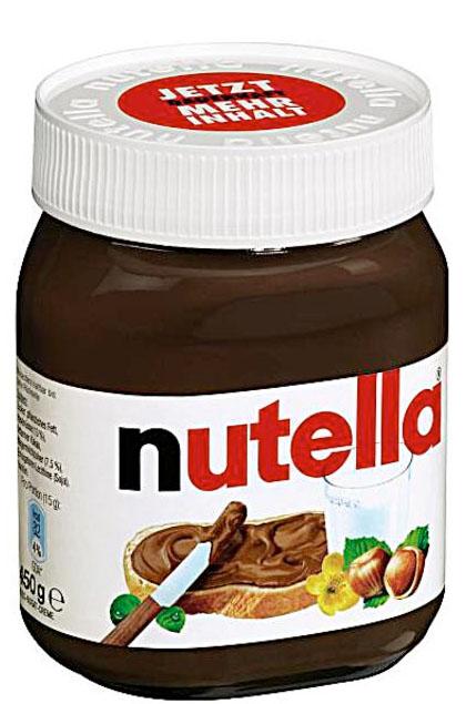 Nutella Brotaufstrich 450g Glas