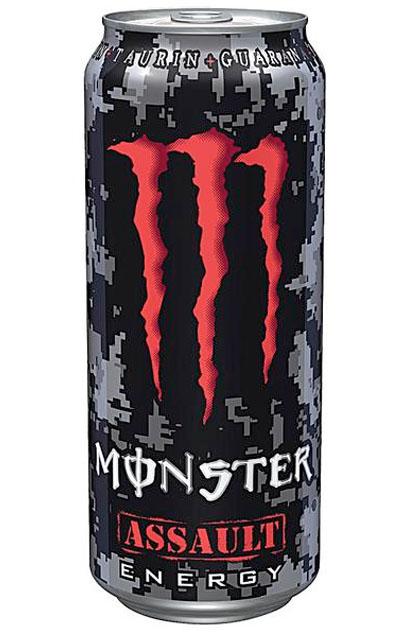 Monster Energy Drink Assault 12x 0,5l