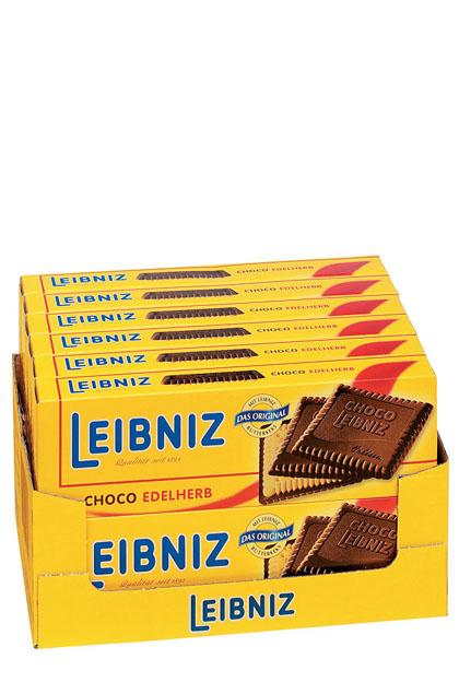 Bahlsen Leibniz Schokokeks Edelherb 12x 125g