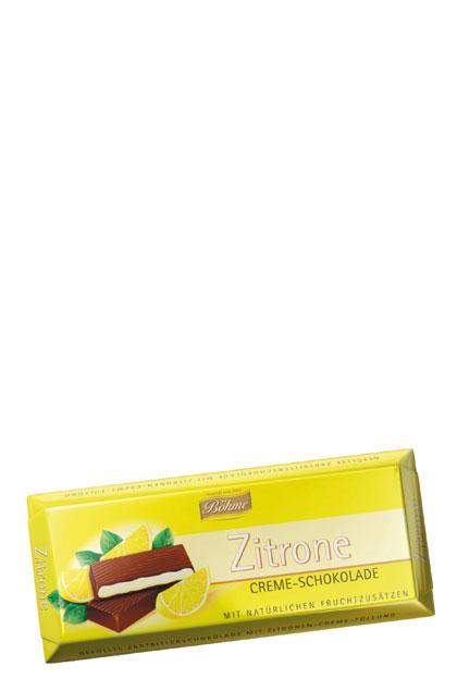 b hme zitrone creme schokolade 20 tafeln 100g g nstig. Black Bedroom Furniture Sets. Home Design Ideas