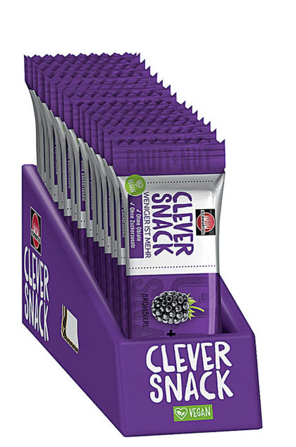Clever Snack Brombeere- Dattel- Cashew 15x35g