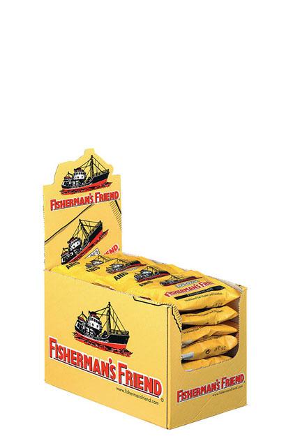 Fishermans friend Anis gelb 24x 25g