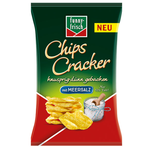 funny frisch chips cracker meersalz 12x 90g g nstig online bestellen. Black Bedroom Furniture Sets. Home Design Ideas