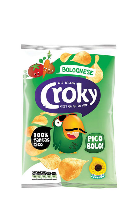 croky bolognese chips 20x 40g g nstig online bestellen. Black Bedroom Furniture Sets. Home Design Ideas
