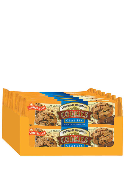 Griesson Chocolate Cookies Classic 14x 150g