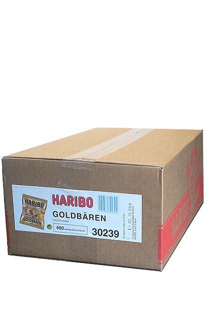 Haribo Goldbären Minibeutel 400 Stück im Karton