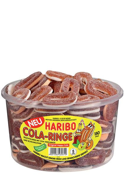 Haribo Cola Ringe 150 Stück