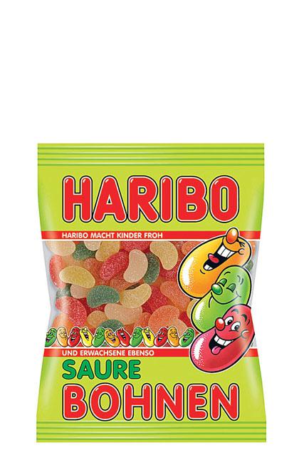 Haribo Saure Bohnen 17x 200g