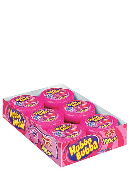 Hubba Bubba Tape Fancy Fruit Kaugummi 12 Stück