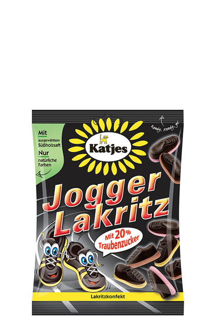 Katjes Jogger Lakritz 20x 200g