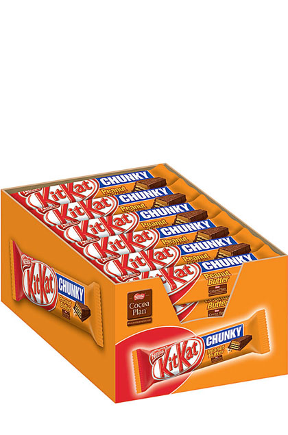 Kitkat Chunky Peanut Butter 24 Schokoriegel 42g
