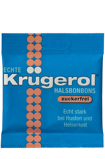 Krügerol Bonbon ohne Zucker 14 Beutel 50g