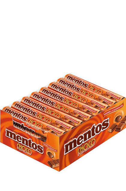 Mentos Choco Karamell & Schokolade 24x 38g