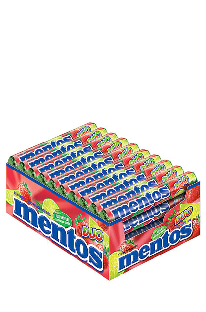 Mentos El Duo Erdbeer/Limette 40x 37,5g