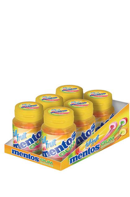 Mentos Gum Full Fruit 6x 70g