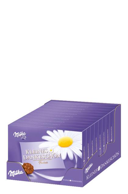 Milka Kleines Dankeschön Alpenmilchcreme 10x 110g