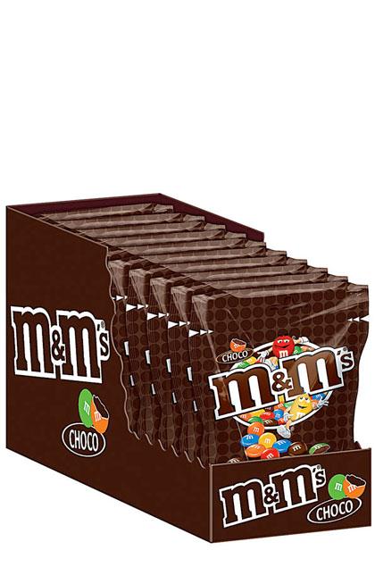 m&ms Choco 12 Beutel 200g