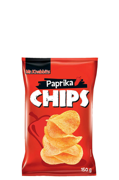 mr knabbits paprika chips 20x 150g g nstig online bestellen. Black Bedroom Furniture Sets. Home Design Ideas