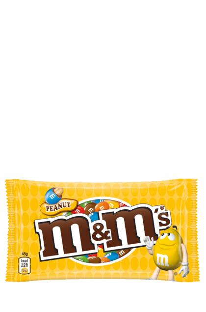 m&ms Peanut 24 Beutel 45g