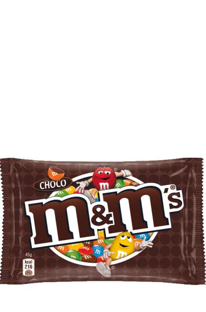 m&ms Schoko Choco 24 Beutel 45g