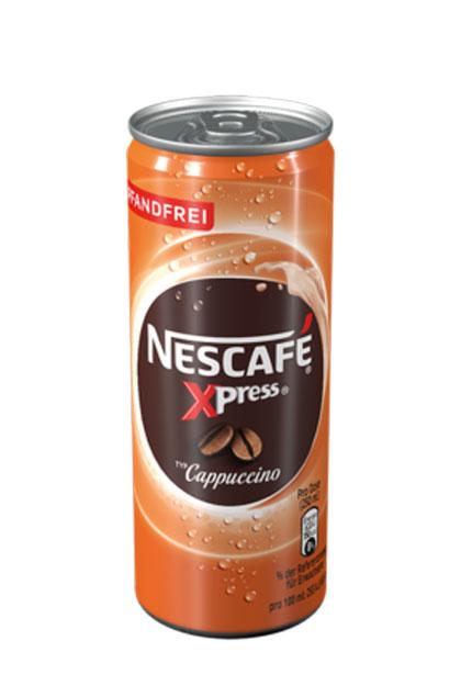 Nescafé Xpress Cappuccino pfandfrei 12x 250ml