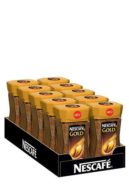 Nescafé Gold 10x 100g