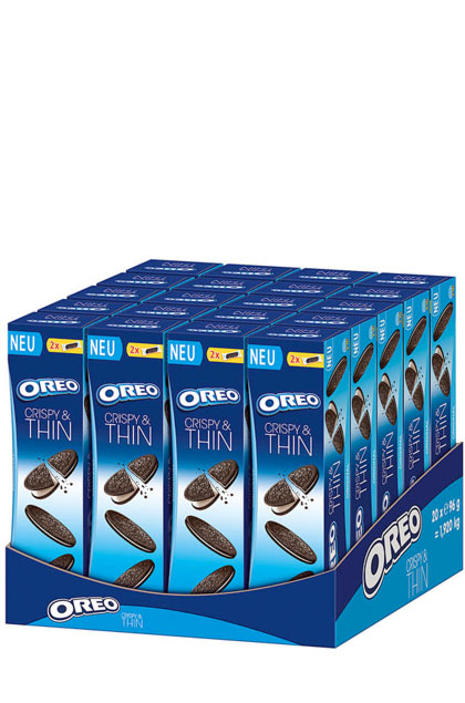 Oreo Crispy & Thin 20 Stück 96g