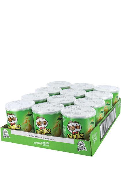 Pringles Sour Cream und Onion 12x 40g