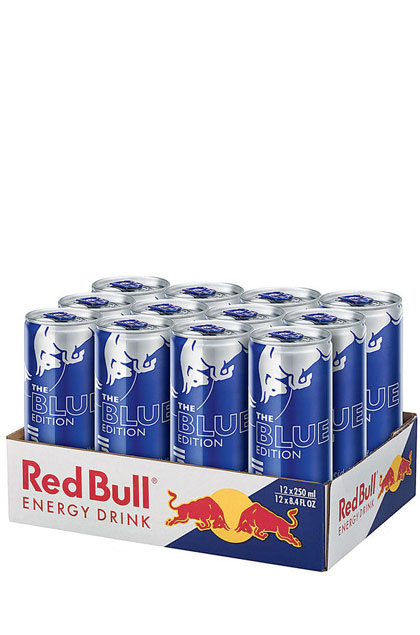 Red Bull Blue Edition 12x 0,25l
