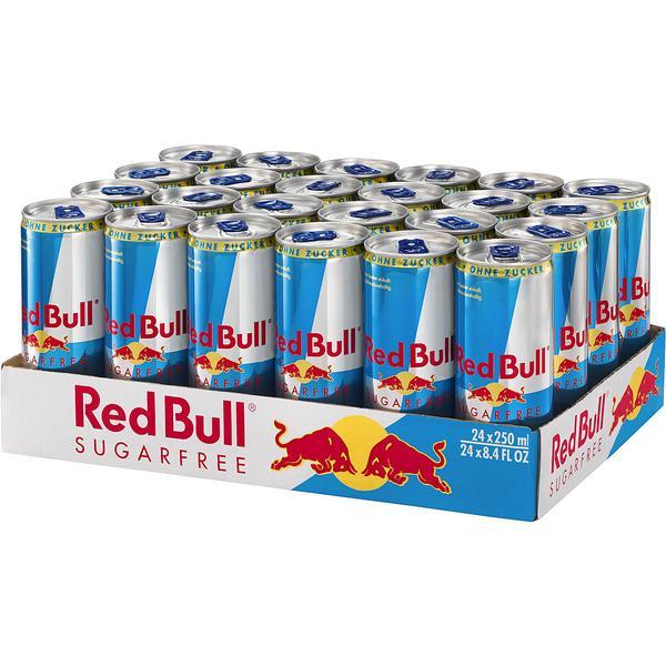 red bull energy drink sugarfree 24x 0 25l g nstig online. Black Bedroom Furniture Sets. Home Design Ideas