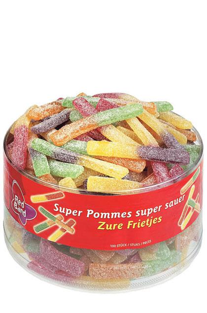 Red Band Pommes super sauer 100 Stück