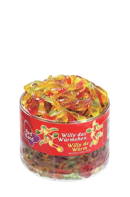 Red Band Willi das Würmchen 200 Stück