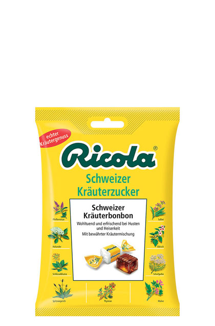 ricola schweizer kr uter zucker 16x 75g g nstig online bestellen. Black Bedroom Furniture Sets. Home Design Ideas