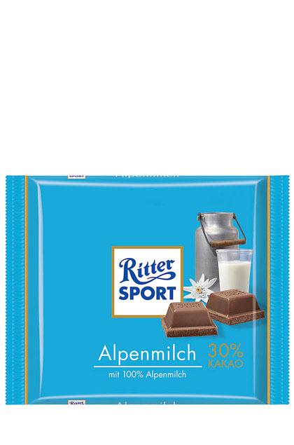 Ritter Sport Alpenmilch 12x 100g