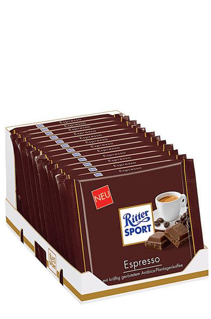 Ritter Sport Espresso 12x 100g