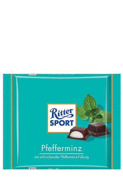 Ritter Sport Pfefferminz 12x 100g