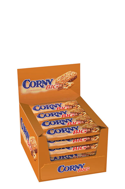 Schwartau Corny Big Peanut & Chocolate 24x 50g