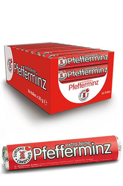 Suntjens - Extra feine Pfefferminzbonbons 36x 30g