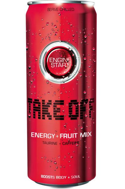 Take Off Red Fruit 24x 0,33l