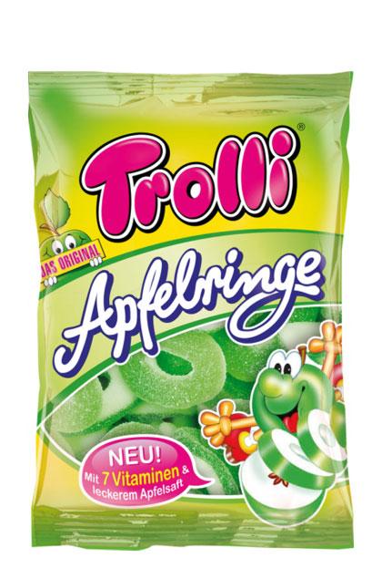 Trolli saure Apfelringe 18x 200g