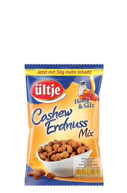 Ültje Cashew-Erdnuss Mix Honig und Salz 12x 200g
