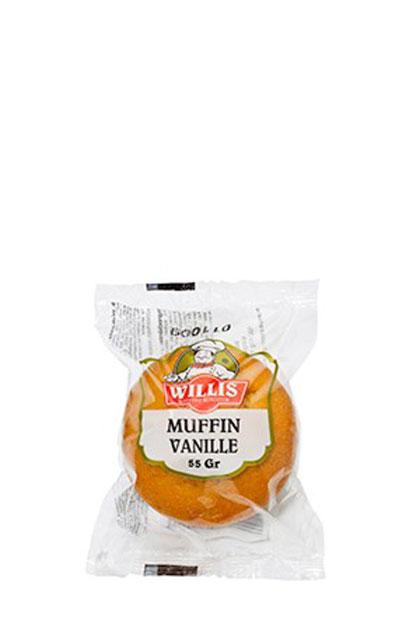 Willis Vanille Muffins mit Schokostückchen 30x 55g