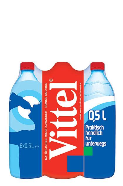 Vittel Mineralwasser 24x 0,5l
