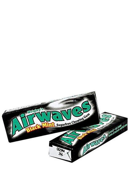 Wrigley Airwaves Black Mint 30 Stück