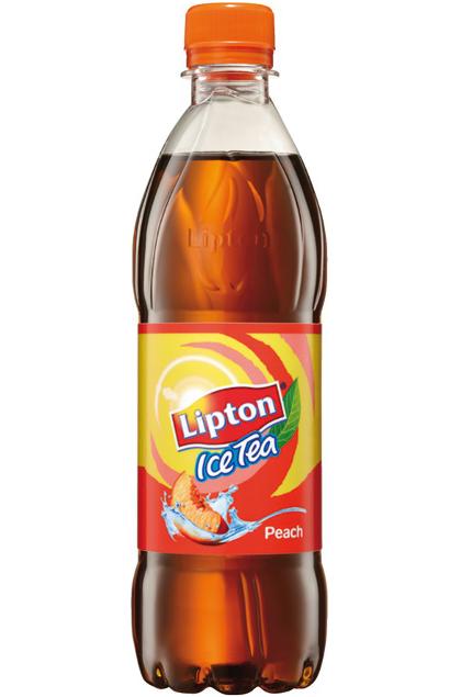 lipton ice tea peach 24x 0 5l flasche g nstig online bestellen. Black Bedroom Furniture Sets. Home Design Ideas