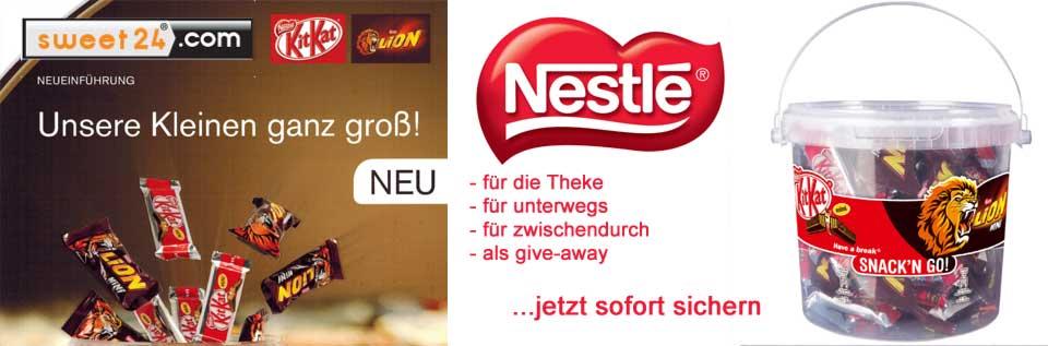 Nestle Snackn go Banner