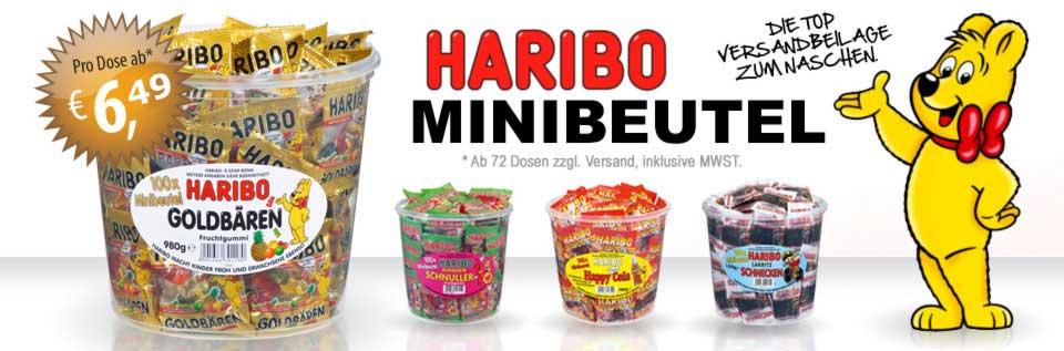 Banner HARIBO Minibeutel